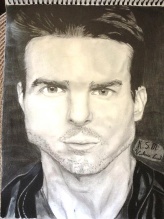 Tom Cruise by VictoriaCreed